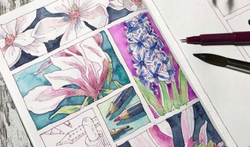 Floral Sketching! — Einführung in die botanische Skizze
